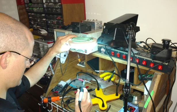 soldering something selfish